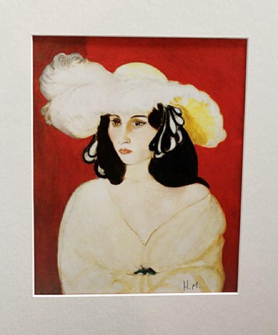Henri Matisse Signed Lithograph 349