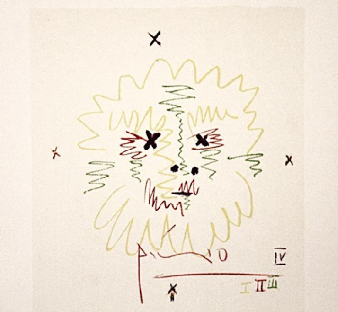 Pablo Picasso Signed Lithograph 303