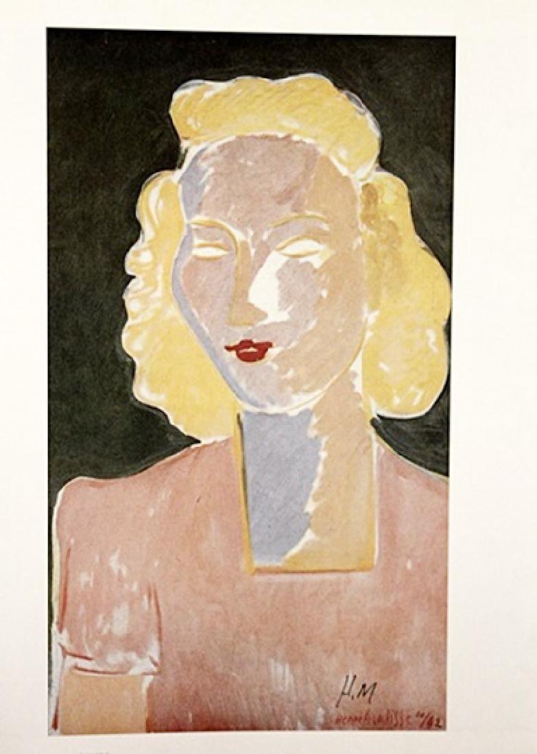 Henri Matisse Signed Lithograph 318