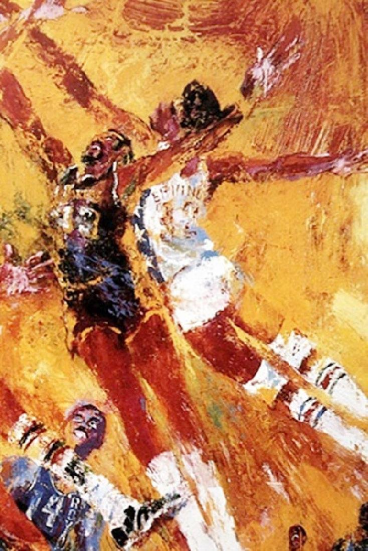 NBA All Star Game - LeRoy Neiman - Double Signed