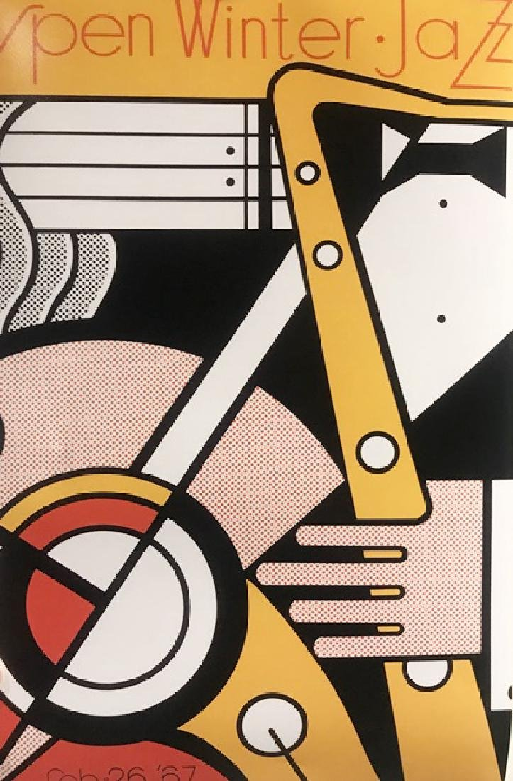 Roy Lichtenstein Lithograph - Aspen Winter Jazz