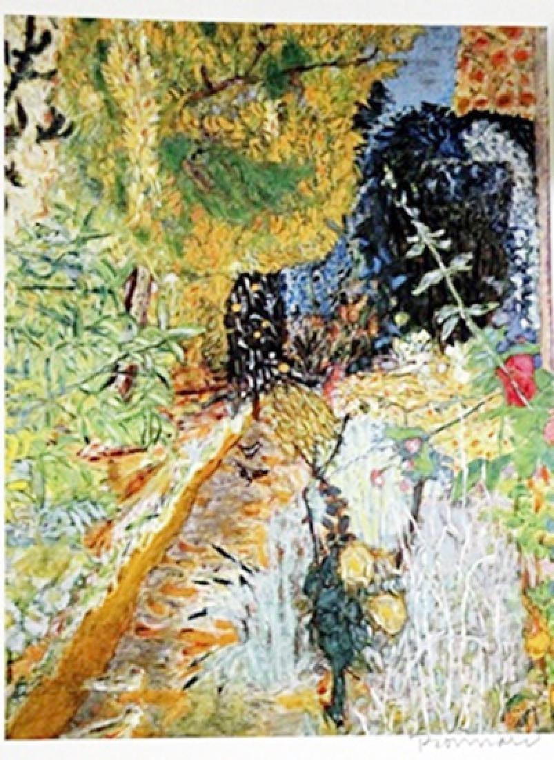 Bonnard - The Garden - Lithograph