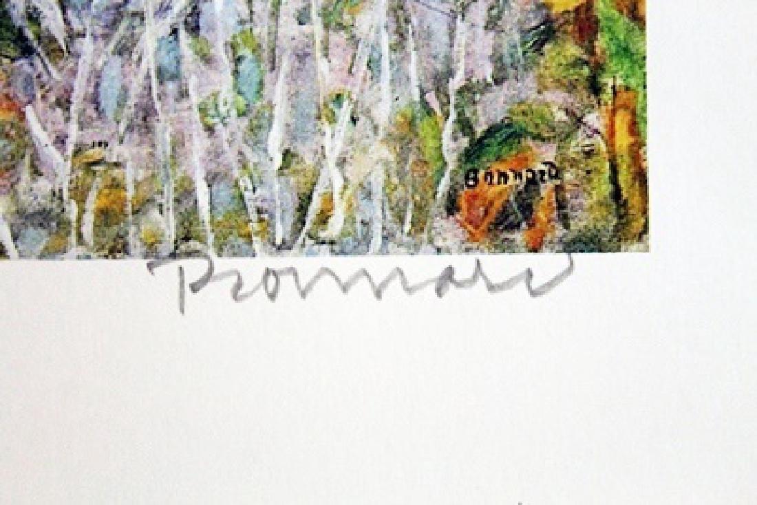 Bonnard - The Garden - Lithograph - 2