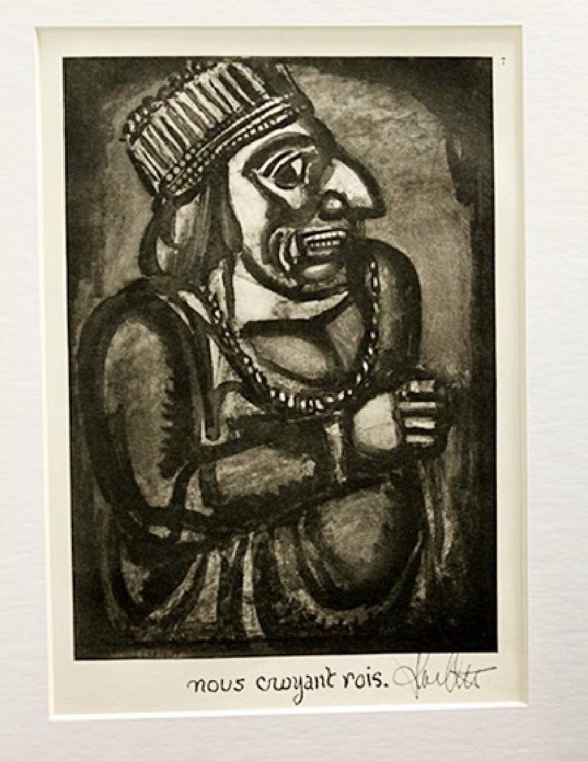 Georges Rouault Signed Lithograph 96