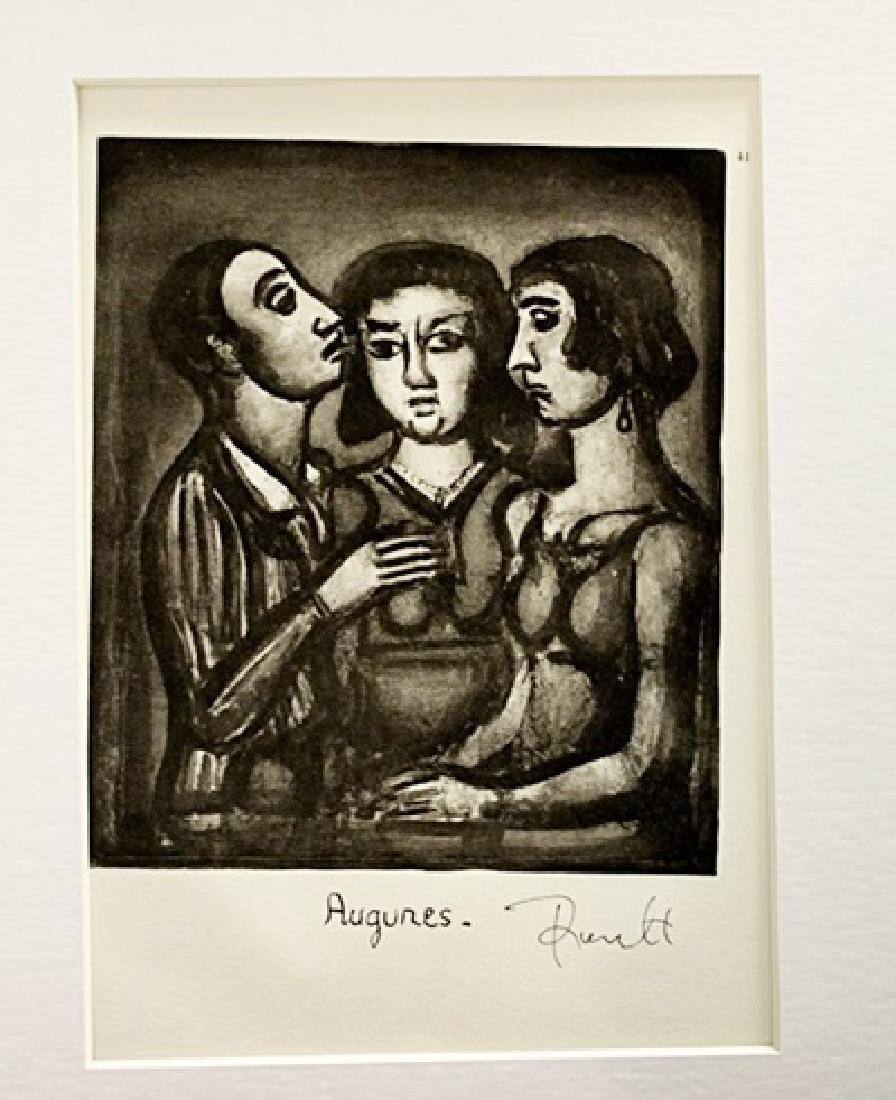 Georges Rouault Signed Lithograph 18