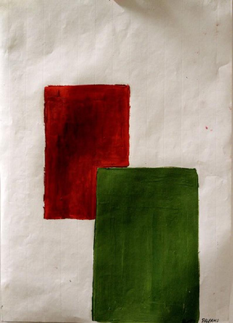 Composition - Blinky Palermo - Oil On Paper