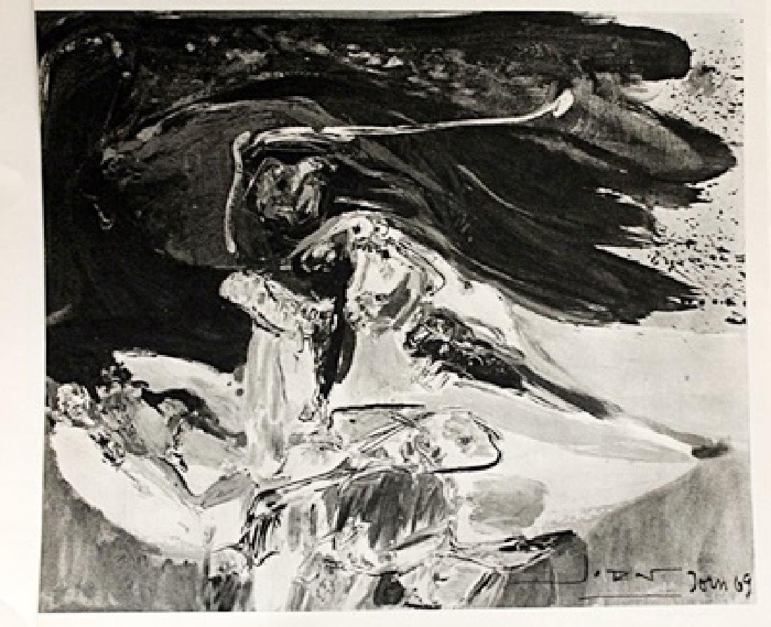 Asger Jorn Signed Lithograph 185