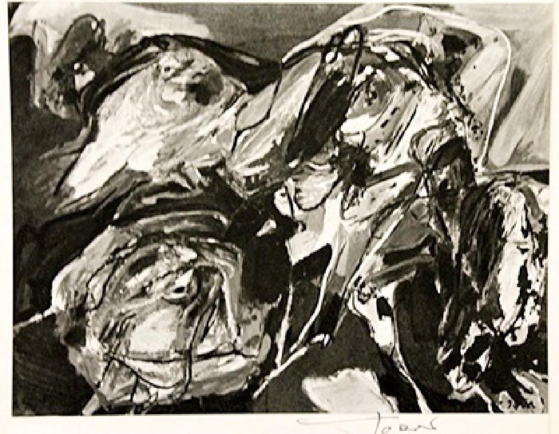 Asger Jorn Signed Lithograph 316