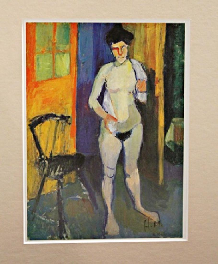 Henri Matisse Signed Lithograph 399