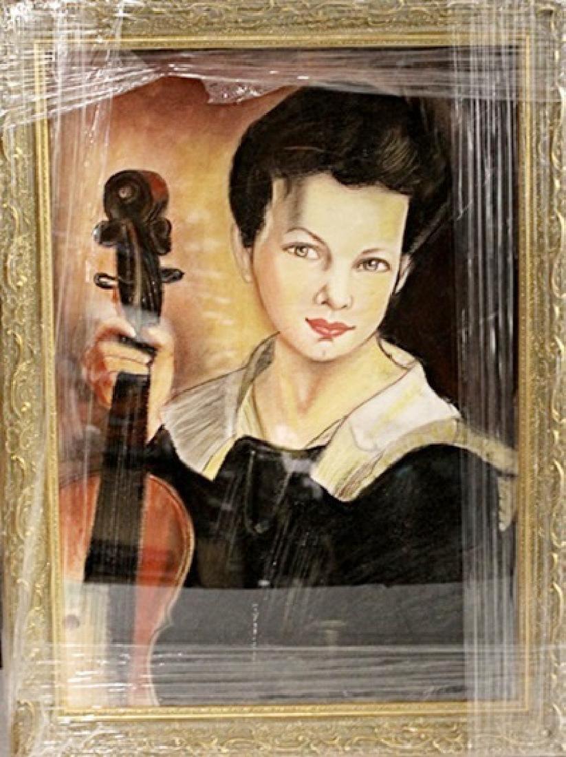 John Singer Sargent - Leonel - Pastel on paper