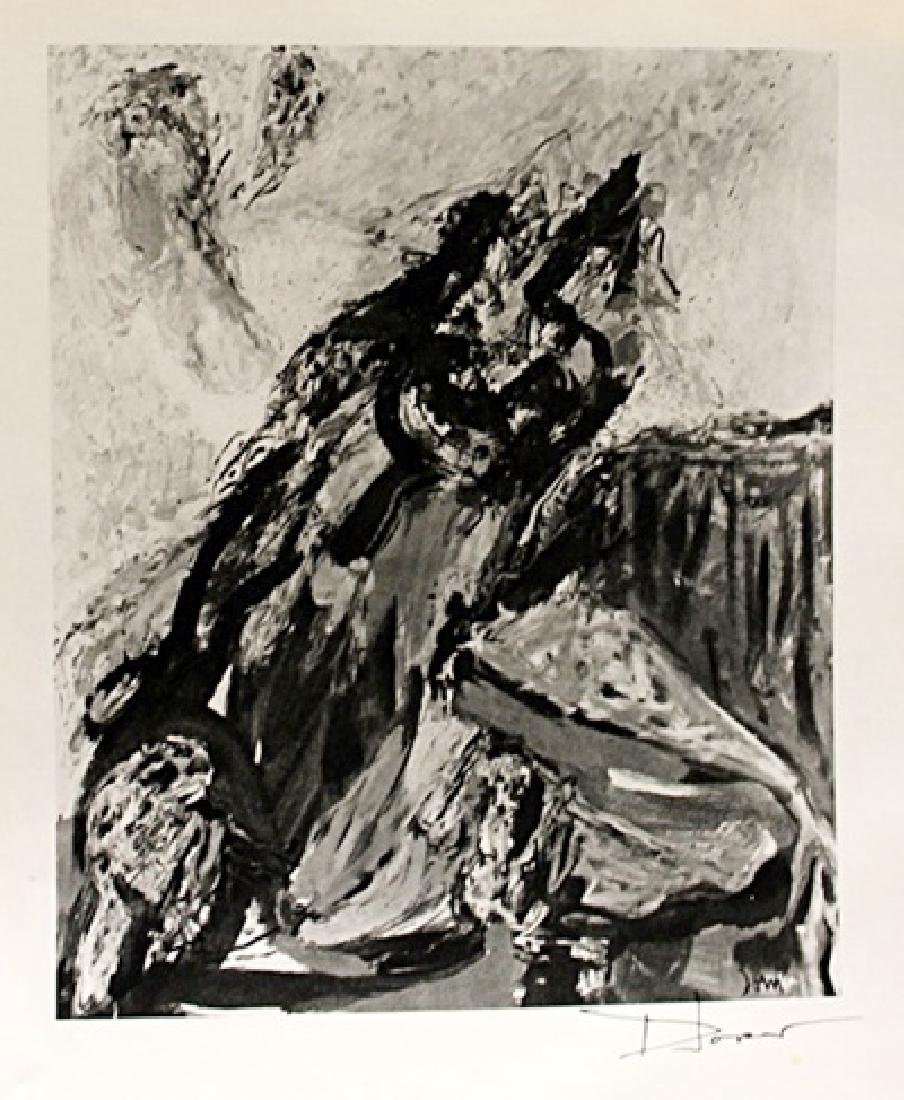 Asger Jorn Signed Lithograph 184