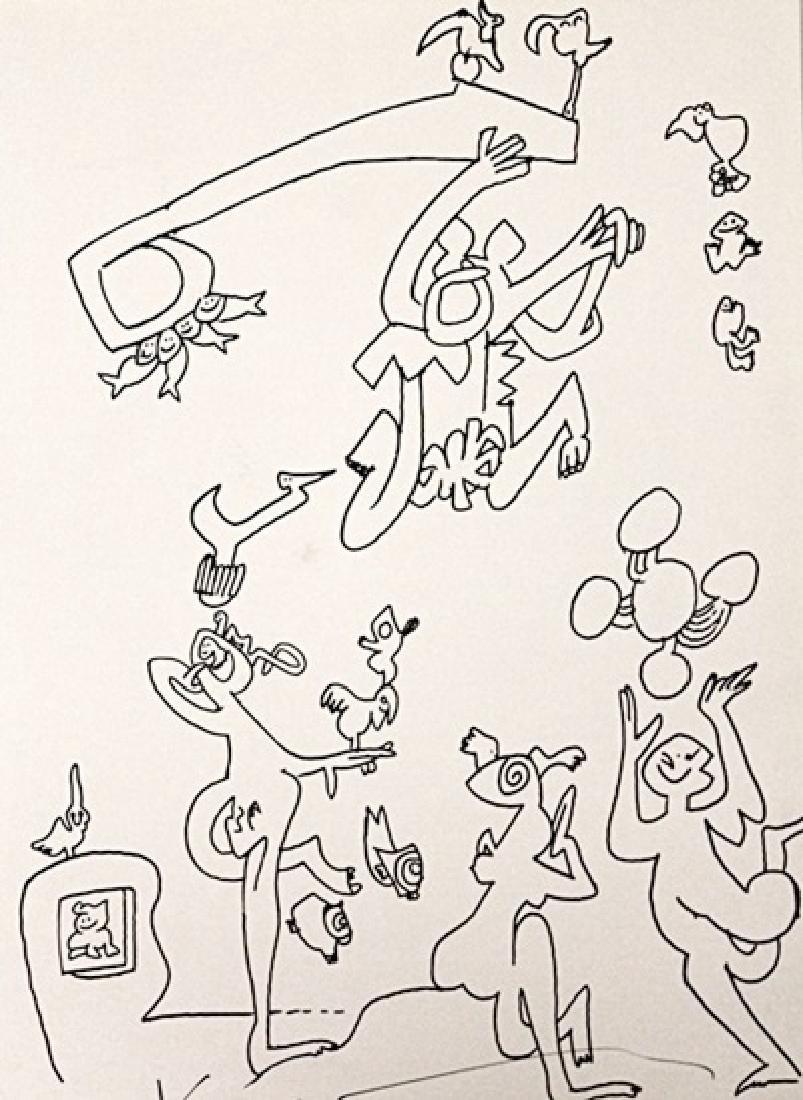 Tetsumi Kudo Signed Lithograph 293