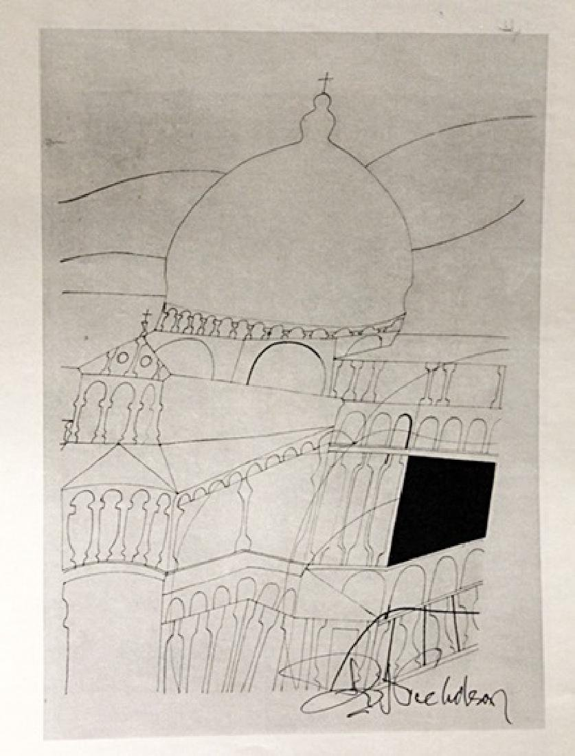 Ben Nicholson Signed Lithograph 222