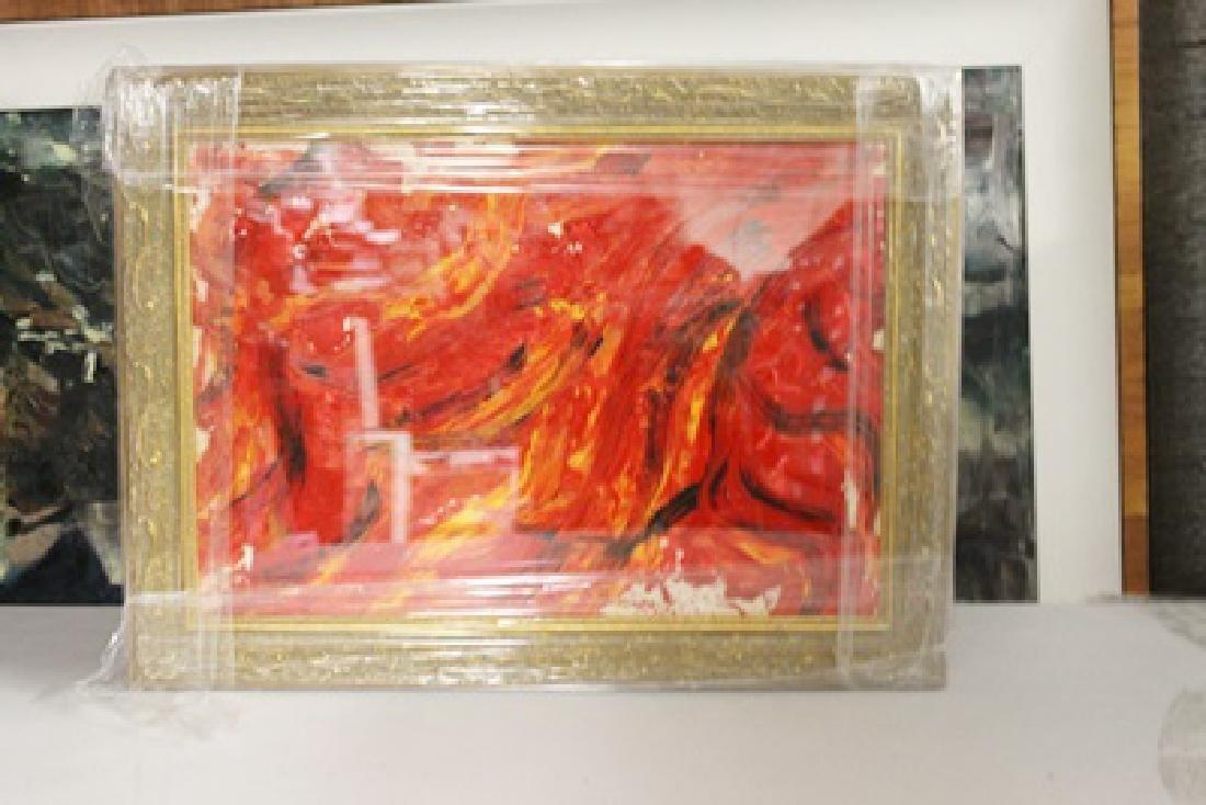 Kazuo Shiraga - Improvisation - Oil on paper