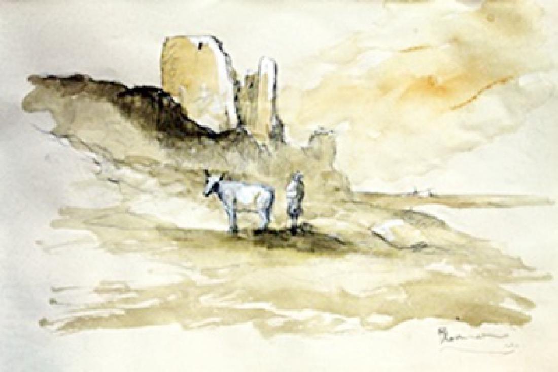 Two Horses - Abraham Bloemaert