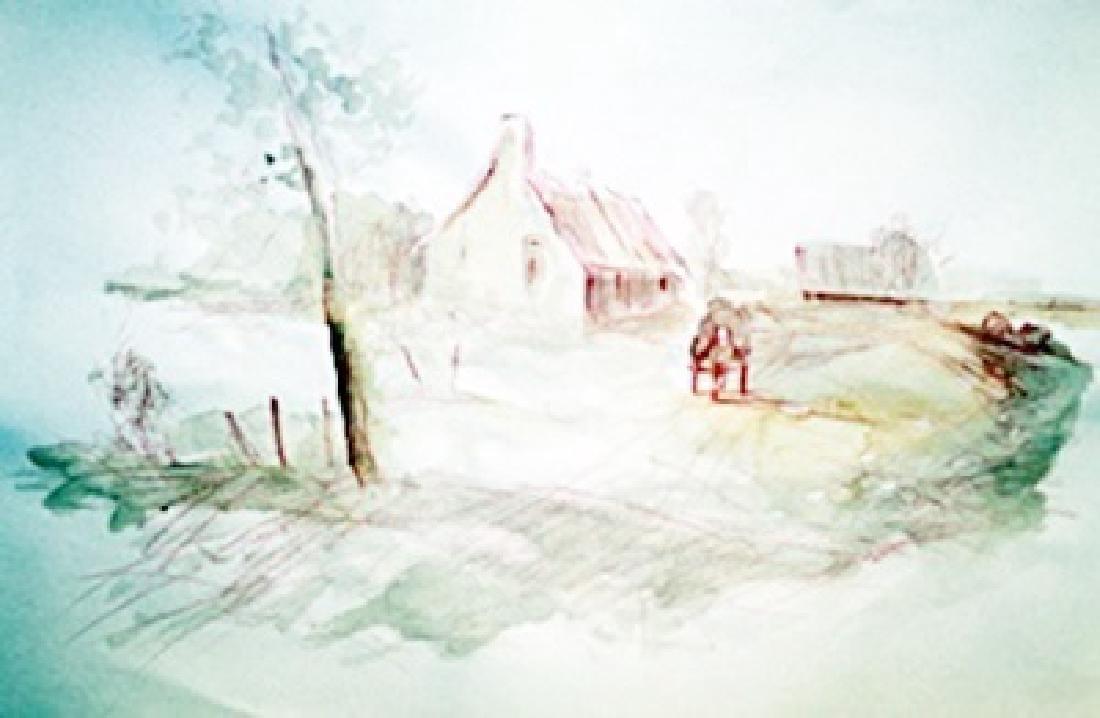 Cottage - Abraham Bloemaert