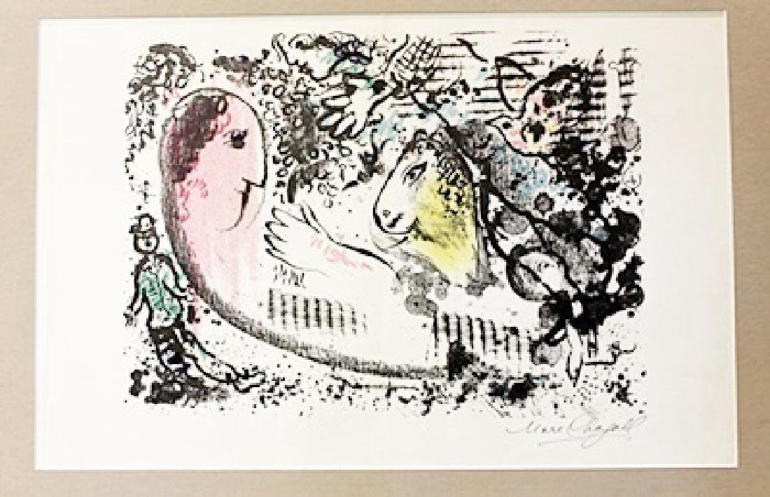 Marc Chagall Signed Lithograph 114