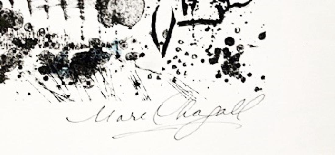 Marc Chagall Signed Lithograph 114 - 3