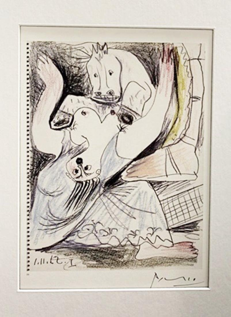 Pablo Picasso Signed Lithograph 67