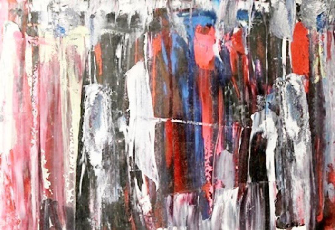 Abstraktes - Gerhard Richter - Oil On Paper
