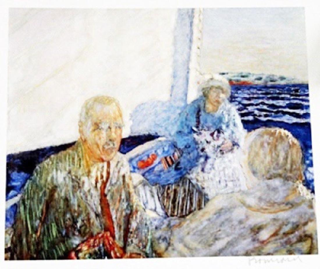 Bonnard - At Sea - Lithograph