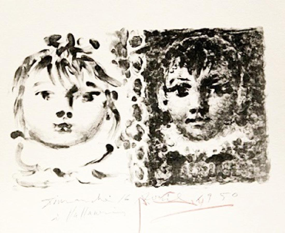 Pablo Picasso Signed Lithograph 227