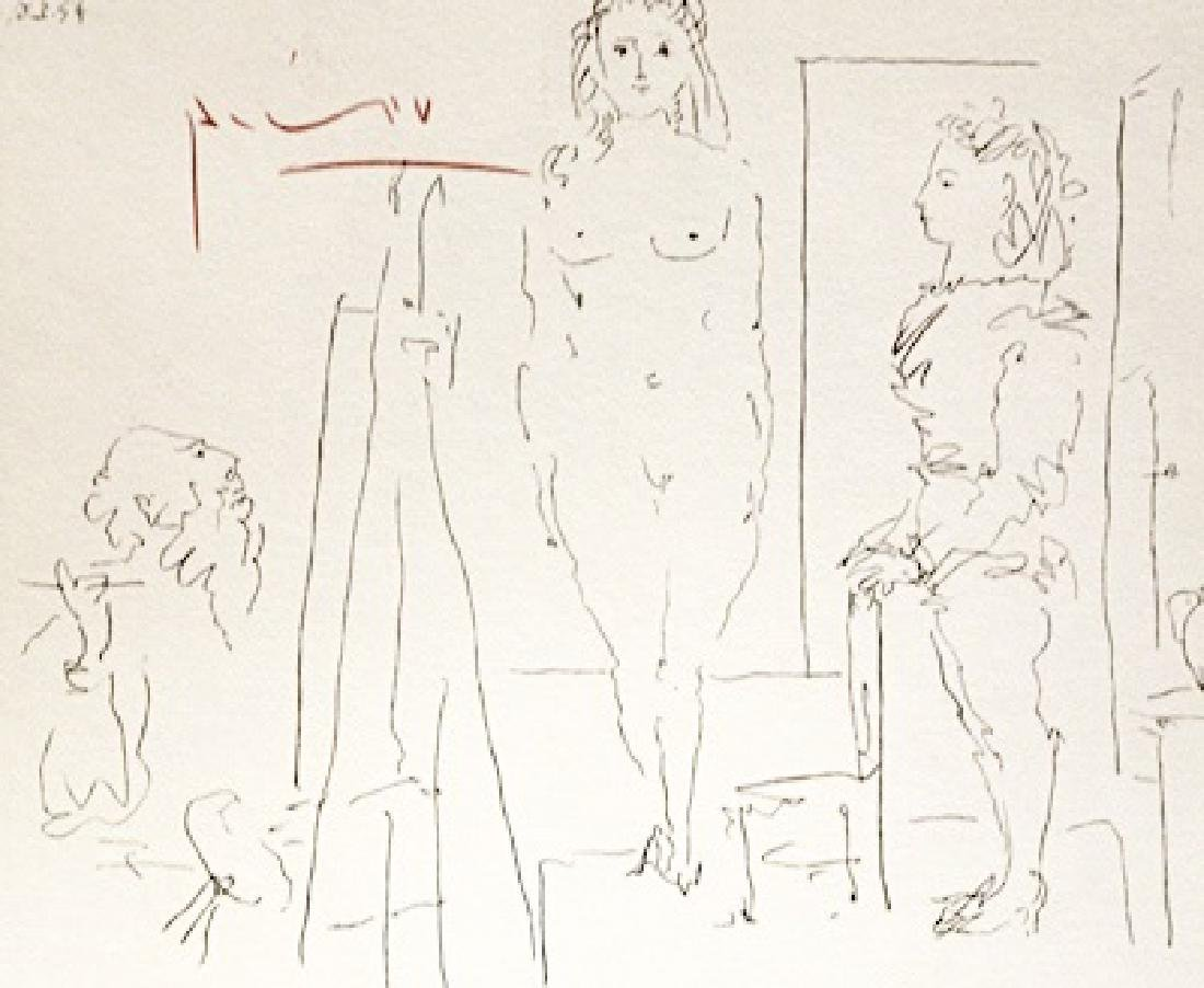 Pablo Picasso Signed Lithograph 238