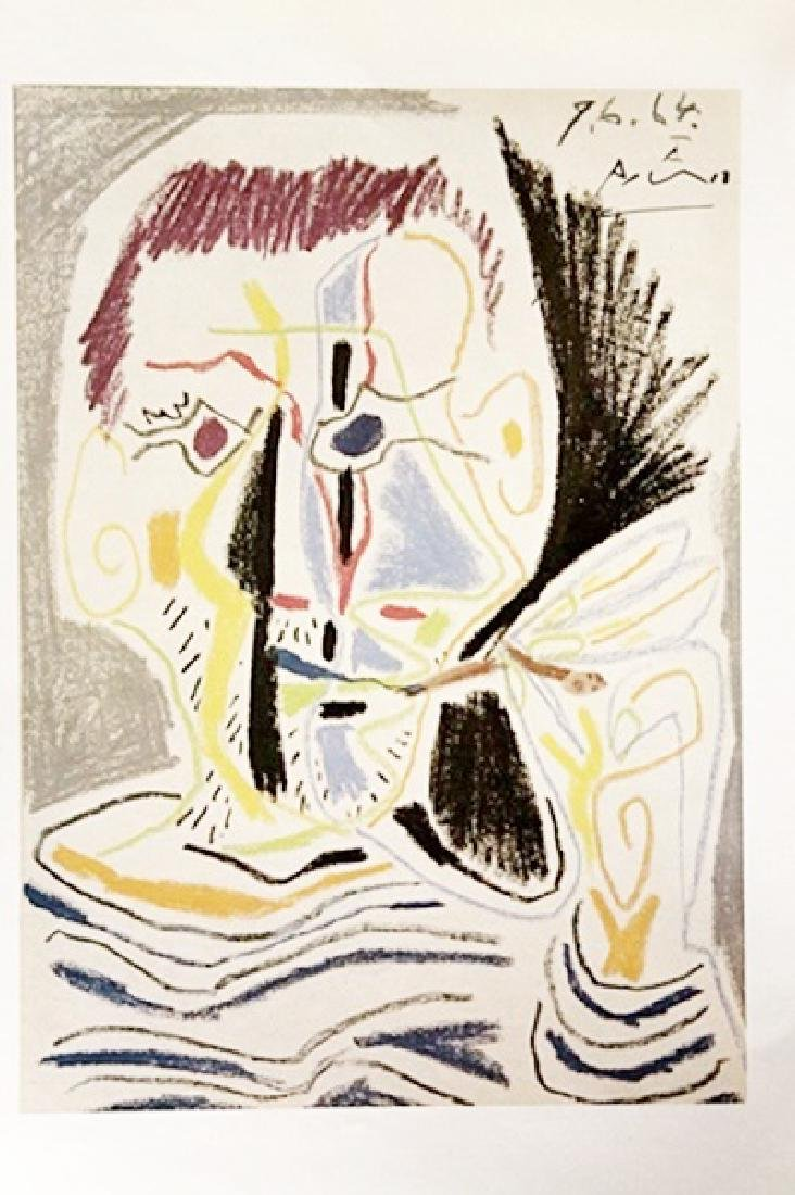 Pablo Picasso Signed Lithograph 166