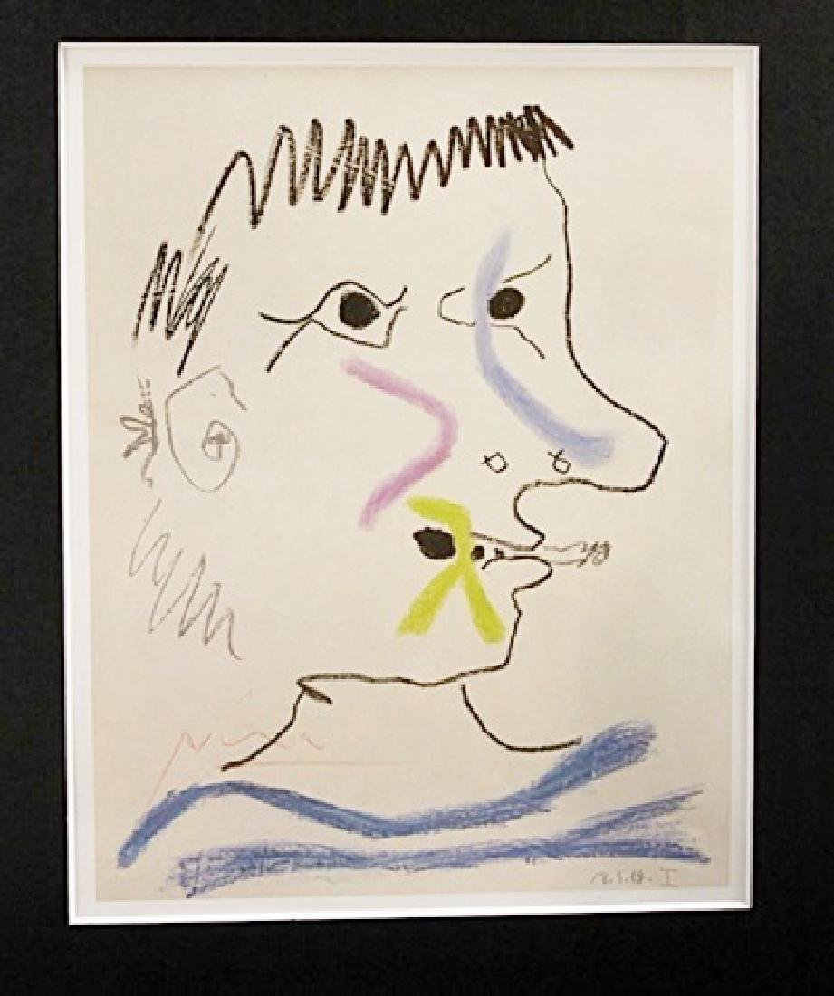 Joan Miró Signed Lithograph 34