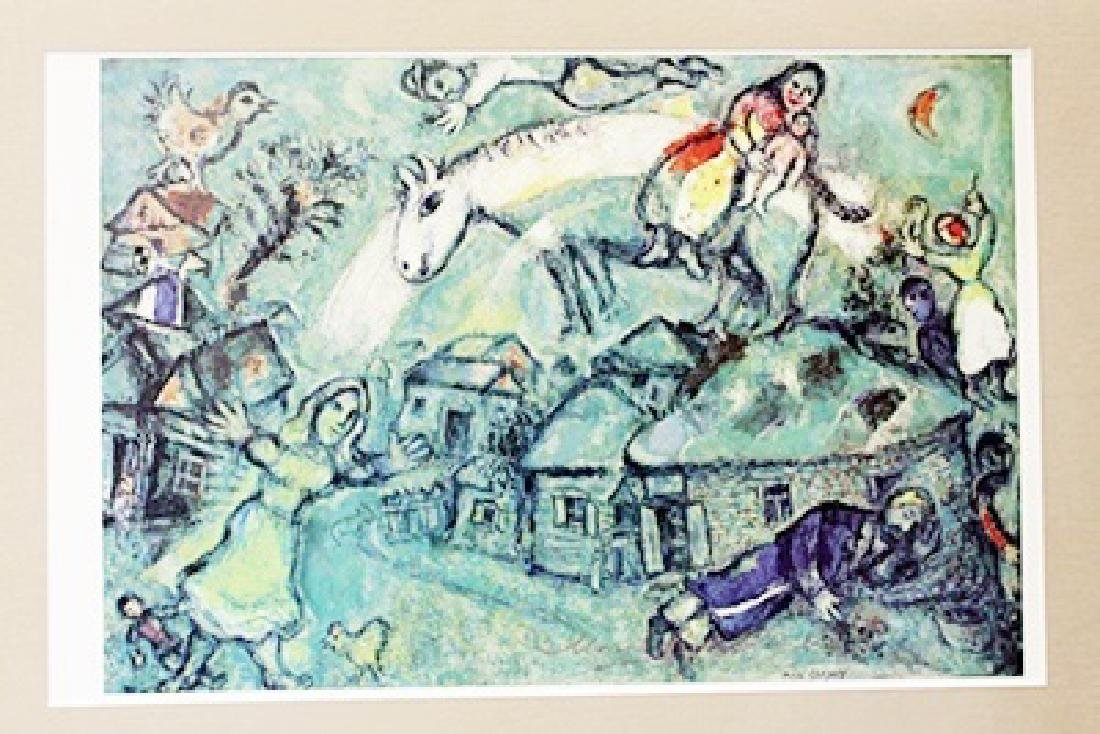 Marc Chagall Signed Lithograph 113