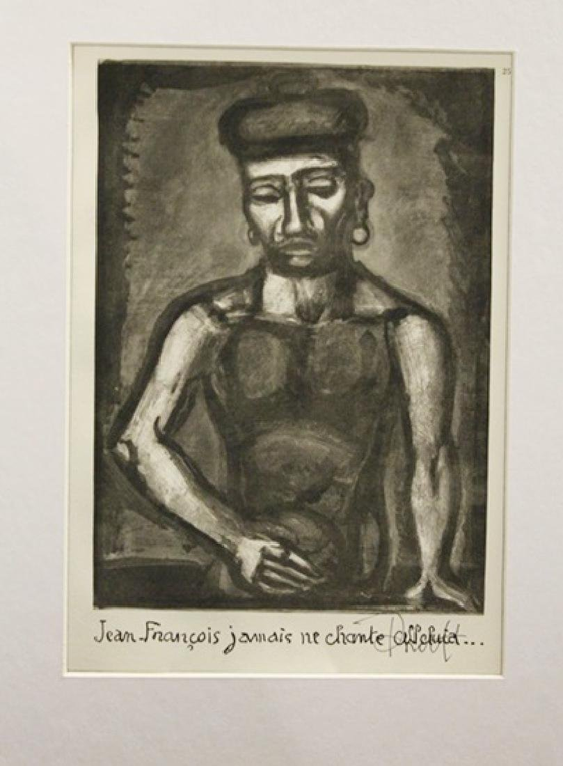 Georges Rouault Signed Lithograph 392