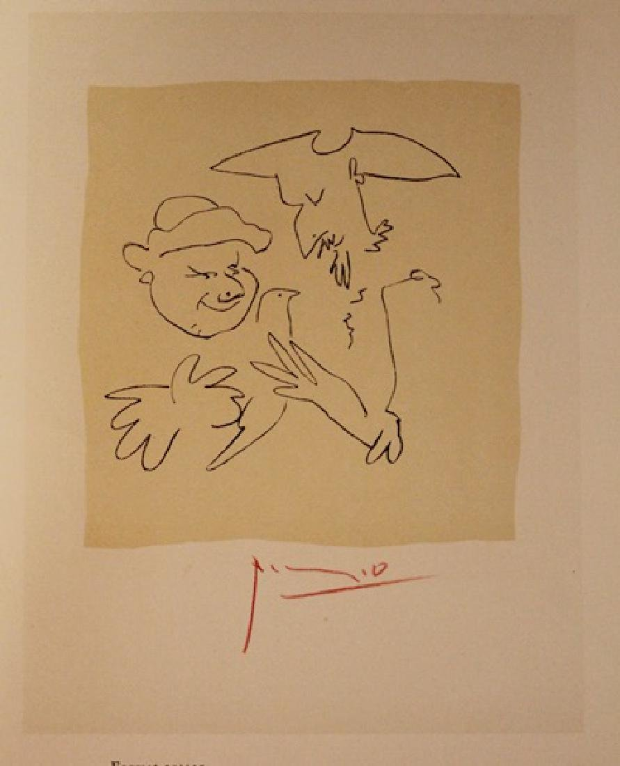 Pablo Picasso Signed Lithograph 412