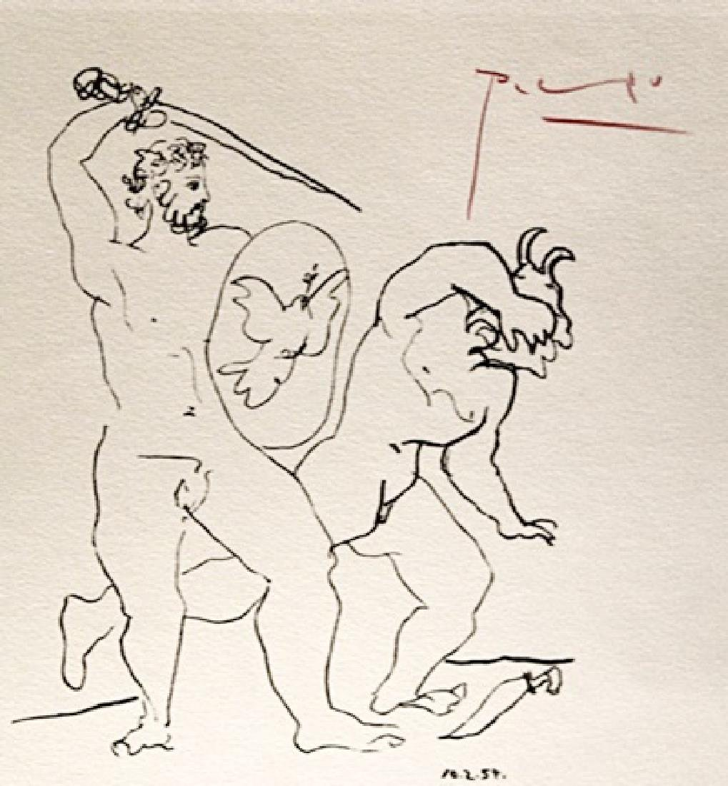Pablo Picasso Signed Lithograph 239