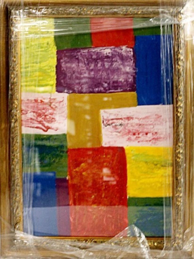 Hans Hofmann - Composition - Oil on paper
