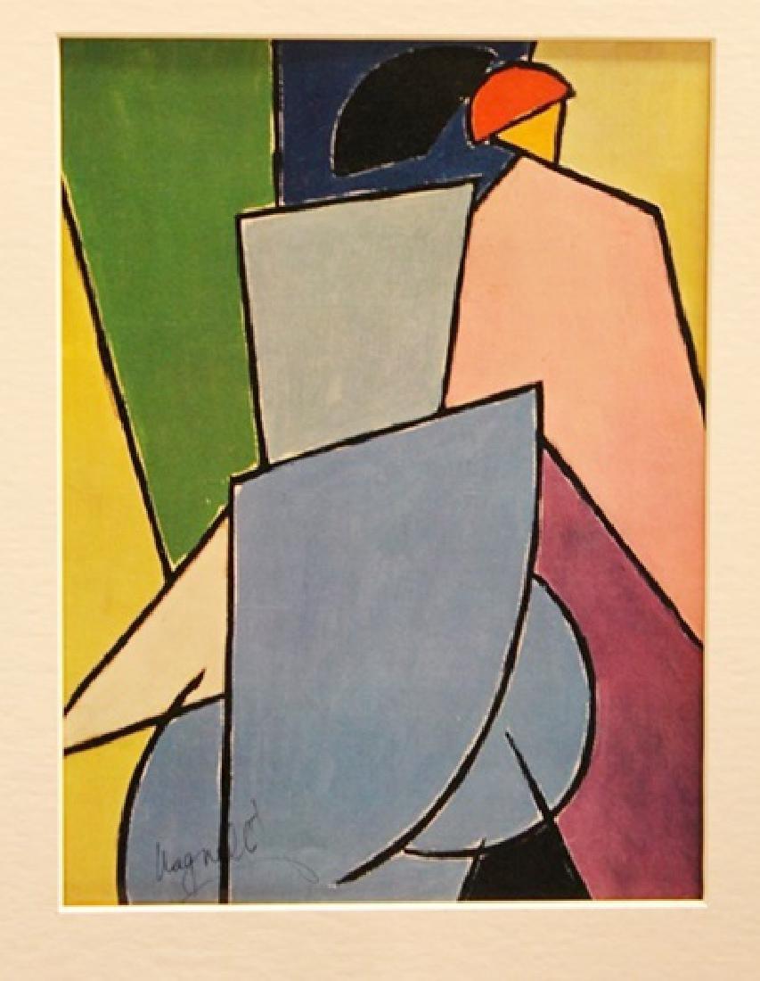 Alberto Magnelli Signed Lithograph 370