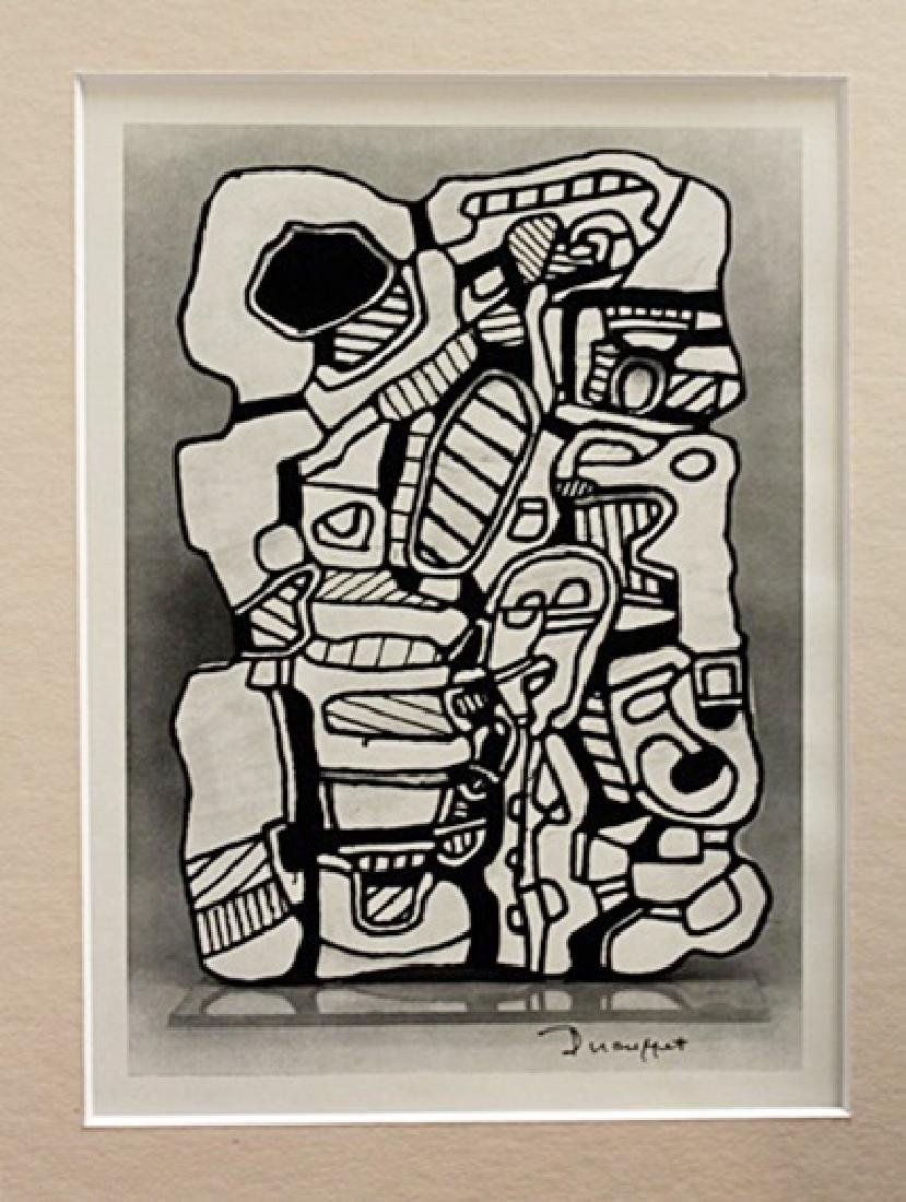 Jean Dubuffet Signed Lithograph 28