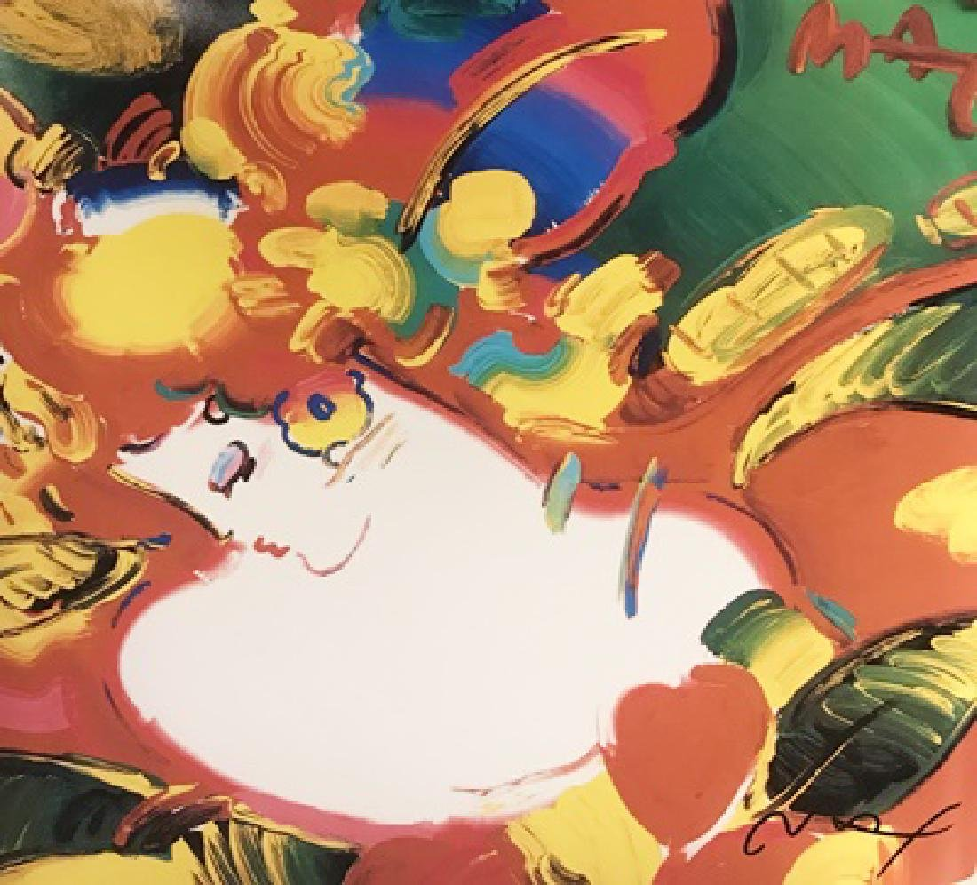 Peter Max Signed Lithograph - Women in Love