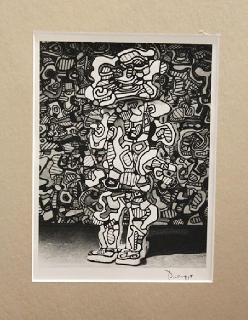 Jean Dubuffet Signed Lithograph 351