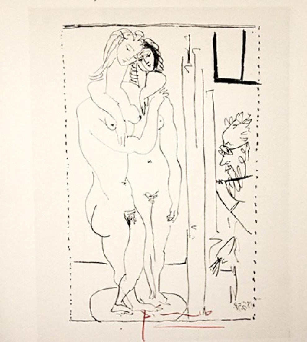 Pablo Picasso Signed Lithograph 300