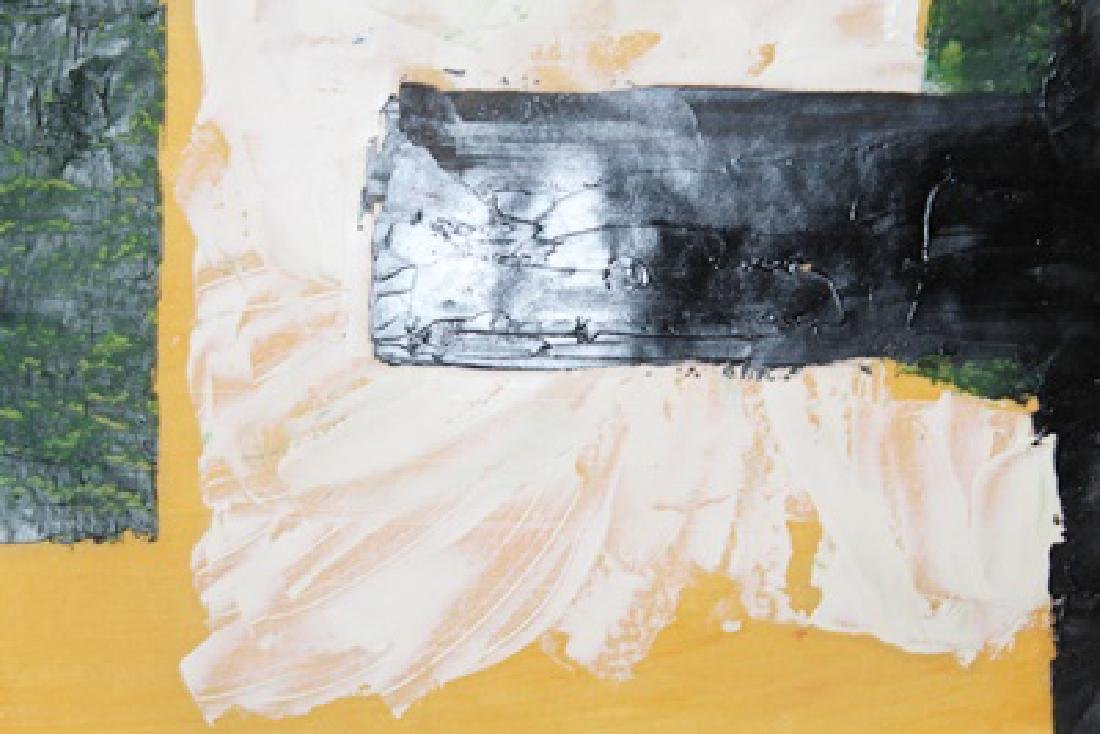 The Bridge - Robert Ryman - Oil On Paper