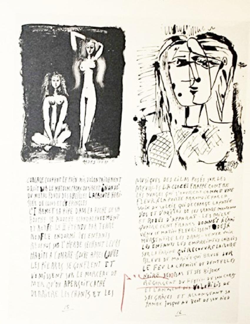 Pablo Picasso Signed Lithograph 163