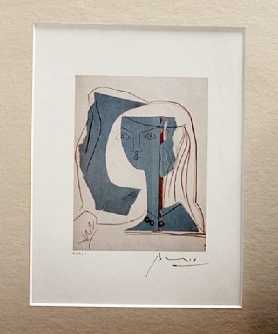 Pablo Picasso Signed Lithograph 43