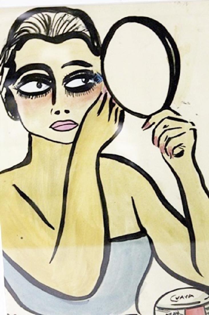 Kees Van Dongen - Watercolor on paper