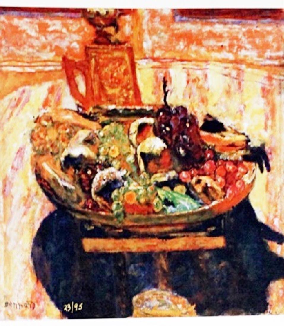 Bonnard - Dessert - Lithograph