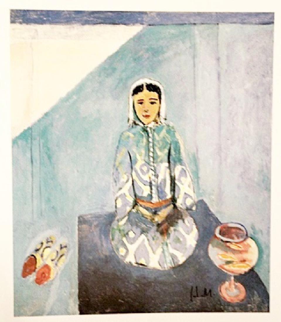 Henri Matisse Signed Lithograph 320