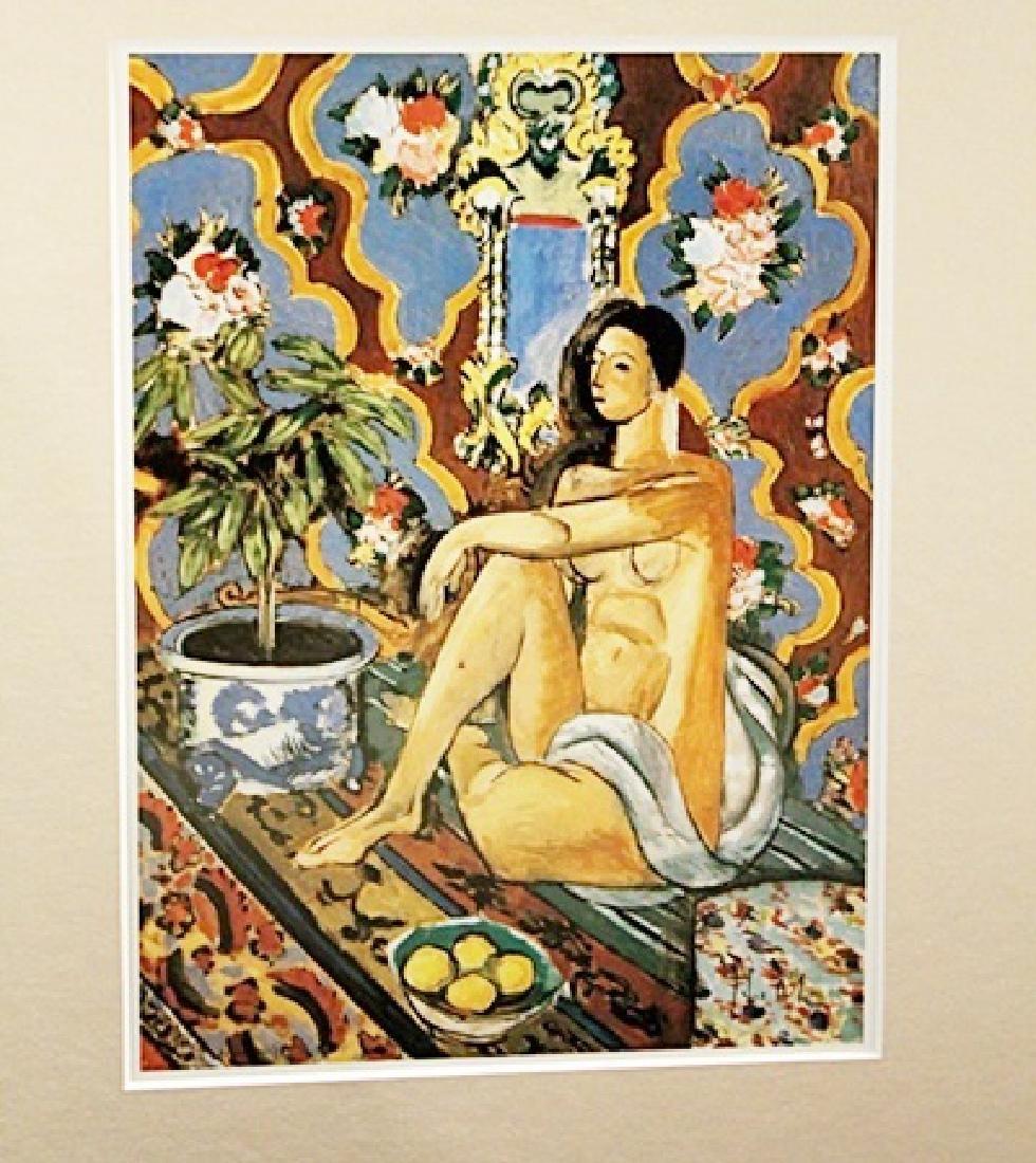 Henri Matisse Signed Lithograph 401