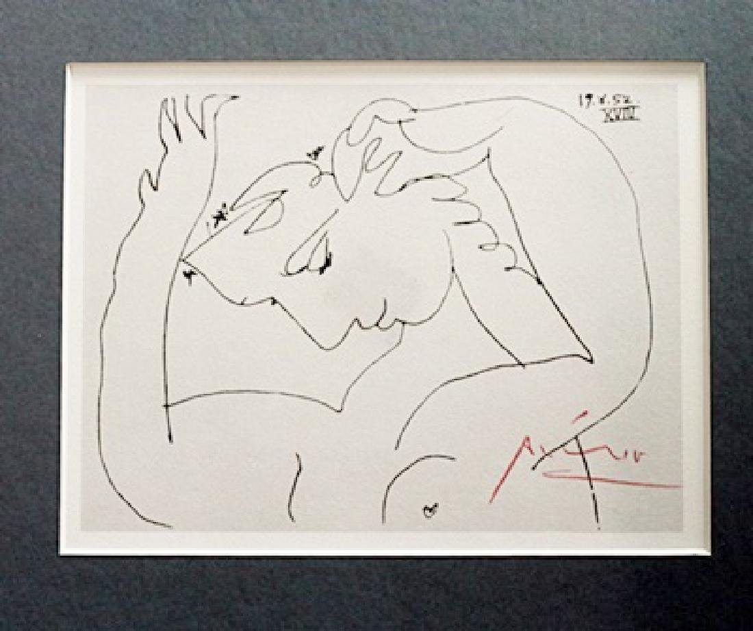 Pablo Picasso Signed Lithograph 55