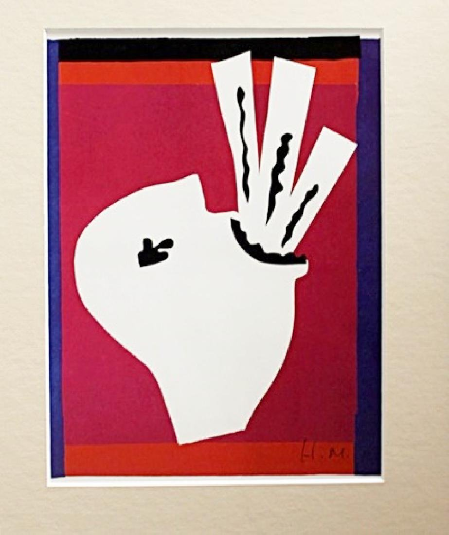 Henri Matisse Signed Lithograph 126