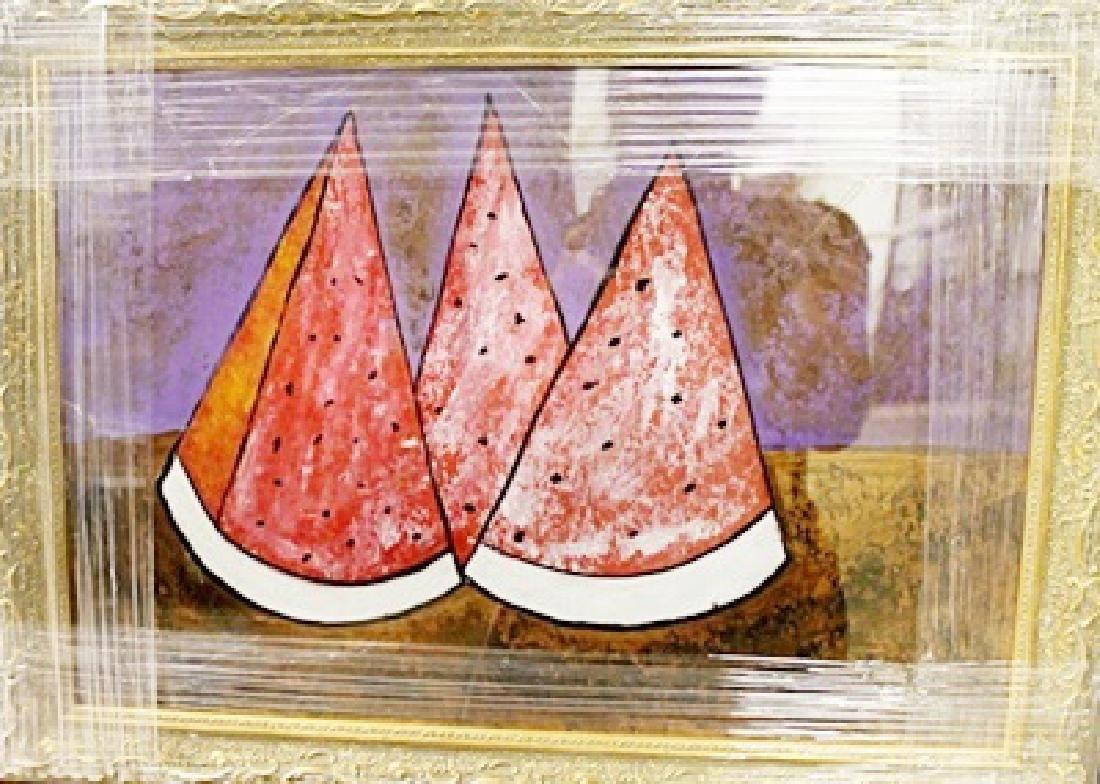 Rufino Tamaya - Tres Sandias - Oil on paper