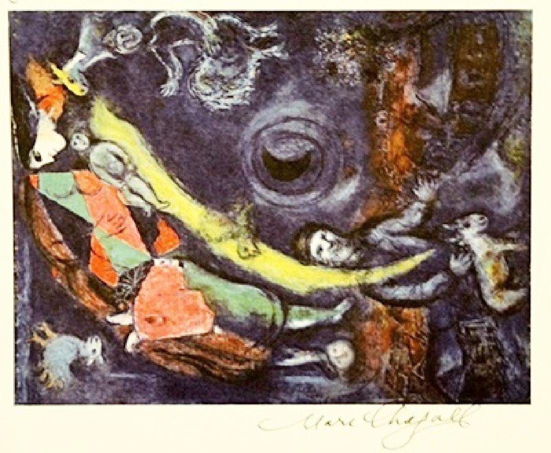 Marc Chagall Signed Lithograph 317